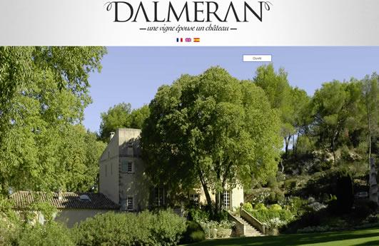 Site Internet du domaine Dalmeran