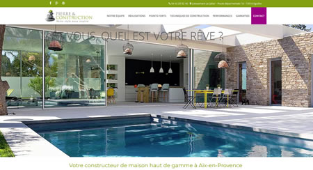 Site web de Pierre et Construction