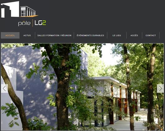 Site web de Pôle LG2