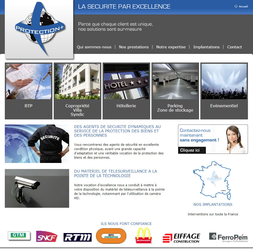 Site web de Protection +